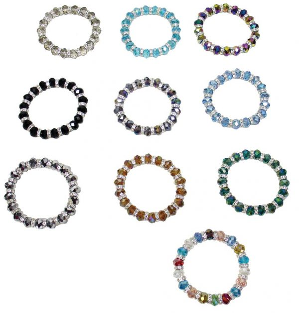 Stretch Diamond Bracelets