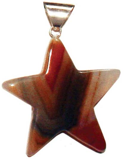 Natural- Gemstone Star