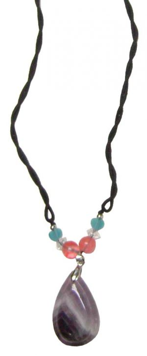 Tear Drop w/ Beads Necklace