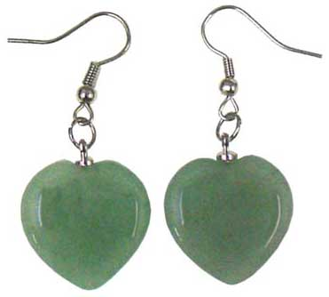 Heart Stone Earrings