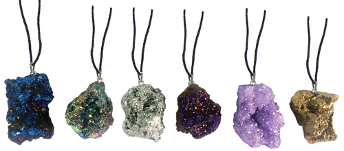 Moroccan  Geode Necklace