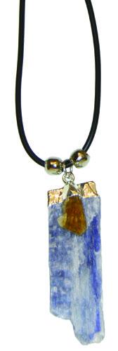 Kyanite with Citrine