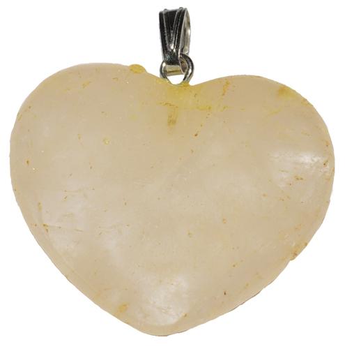 Pendant - Citrine Heart