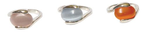 Oval Catseye Rings