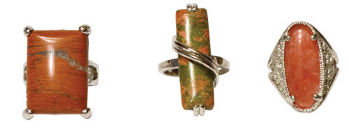 XL Semi-Precious Gemstone Rings