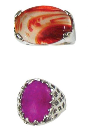XL Semi-Precious Gemstone Rings