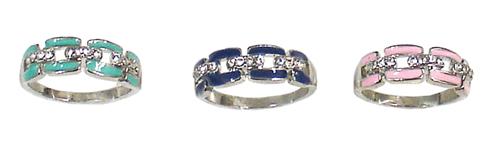 Diamond Link Rings