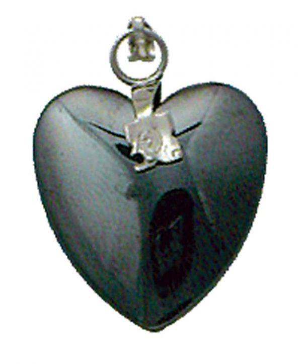 Pendant- Hematite Heart