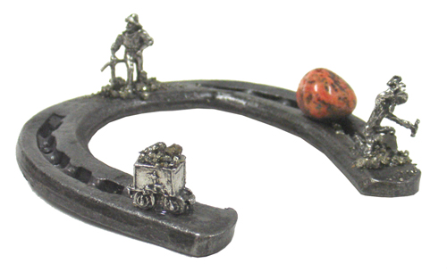 Horseshoes Miners (dusted)