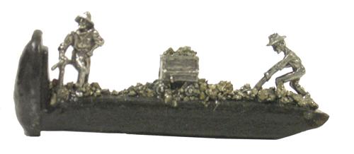 "Train Spikes 4"" 3 pc. Mining"