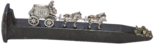"Train Spikes 6 1/2"" Stage Coach"