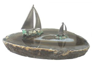 Sailboats On Thick Slab