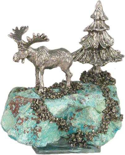 Lg. Moose/Tree