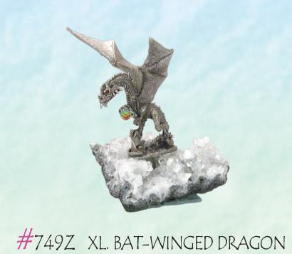 XL. Bat-Winged Dragon