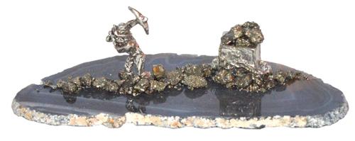 Gold Rush Pick Miner/Ore Cart