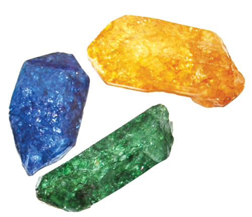 Dyed Crystal Points