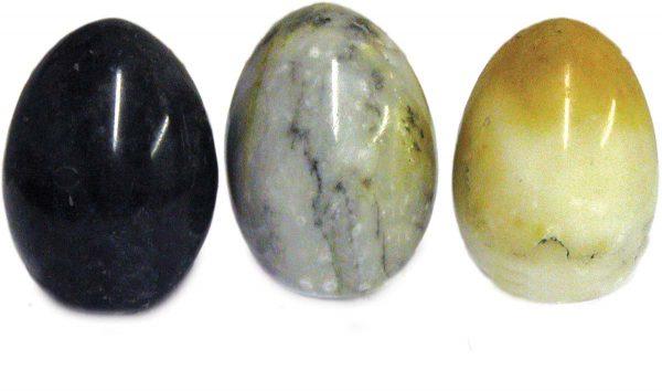 Natural Marble Eggs - Medium