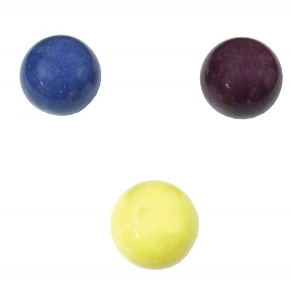 Dyed Marble Spheres