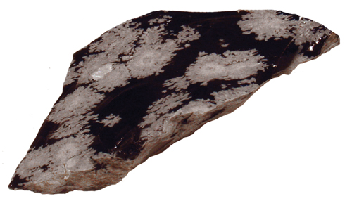Snowflake Obsidian Specimen