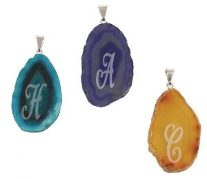 Agate Thin Slab Pendants
