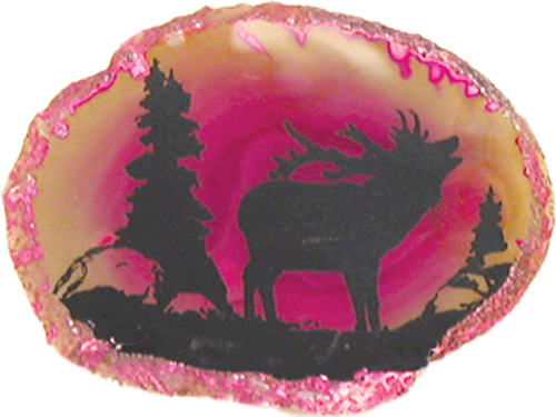 Agate w/stand