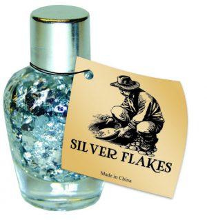 Silver Vase Bottle